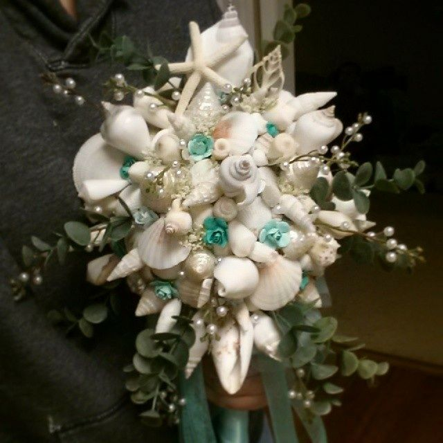 Diy seashell bridal bouquets diy do it yourself seashell bouquet diy seashell bridal bouquets diy do it yourself seashell bouquet beach wedding solutioingenieria Choice Image