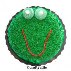 Frog cake ideas. Make a cute frog cake for your next frog theme birthday party. Find an easy how to make a frog cake idea, as well as, more easy...