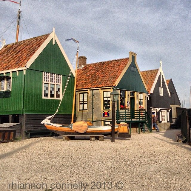 Houses at Zuiderzee Museum, Enkhuizen - http://starrybluesky.wordpress.com/2013/11/19/zuider-zee-museum-enkhuizen/
