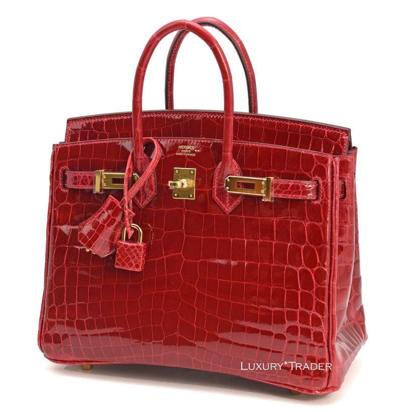 13413588cd Hermes Birkin 25 Braise GHW courtesy of  LuxuryTraderStoreLA  hermes   Birkin25  birkinbraise  Redbirkin