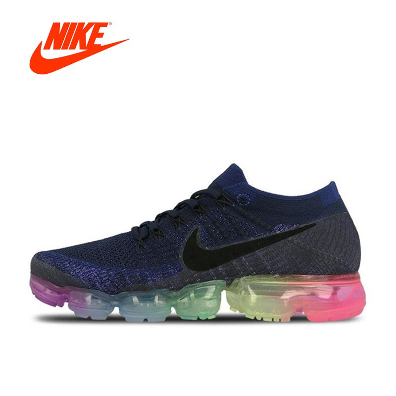 b2cd7a1e133e Original New Arrival Official Nike Air VaporMax Be True Flyknit Breathable  Men s Running Shoes Sports Sneakers