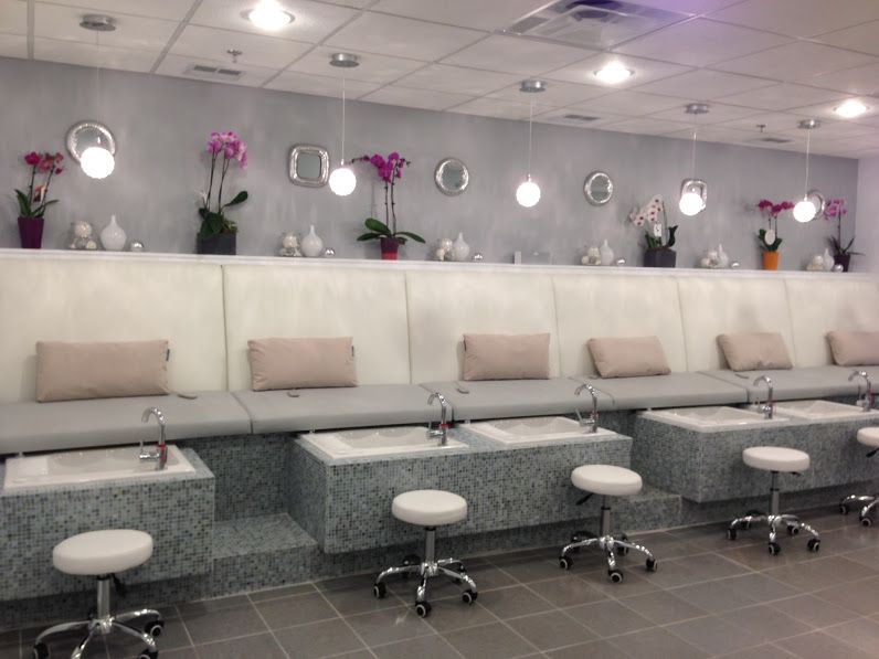 Polish D First Love Pedicure Benches Beauty Salon Decor Salon Decor Home Decor