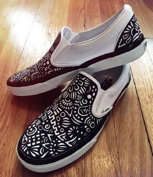 Octopus Pattern Artistic Breathable Fashion Sneakers Running Shoes Slip-On Loafers Classic Shoes