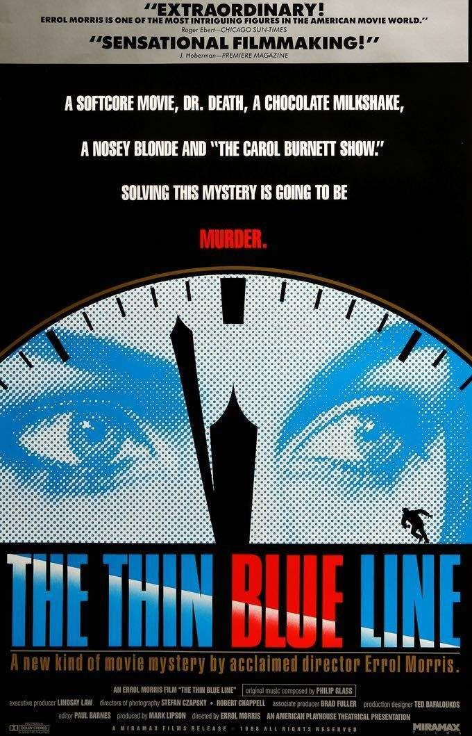 Thin Blue Line (1988) in 2019 | Documentaries that blew my mind