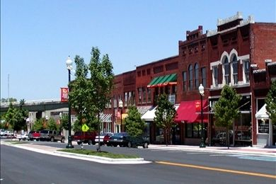 Historic Downtown Dalton, GA where my dad's family is from
