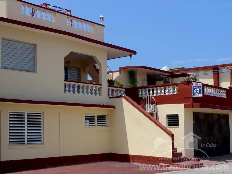 Frente de la renta, Boca de Camarioca, Cuba Hostal