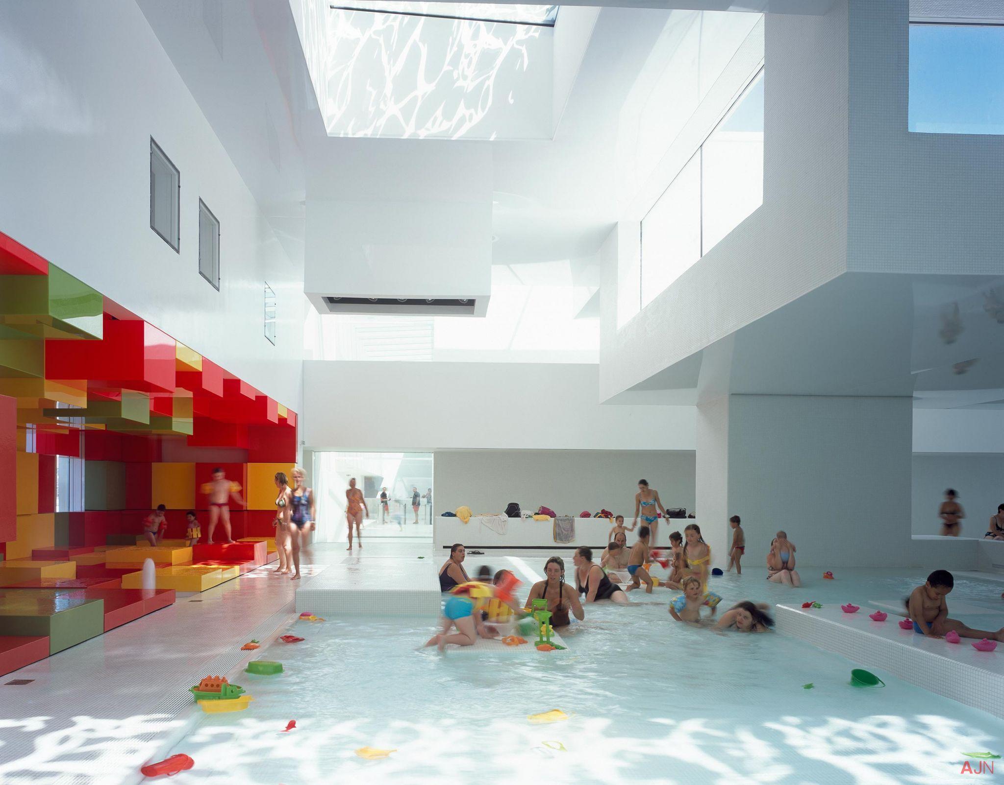 Jean Nouvel    Jean nouvel Swimming pool designs Swimming pools