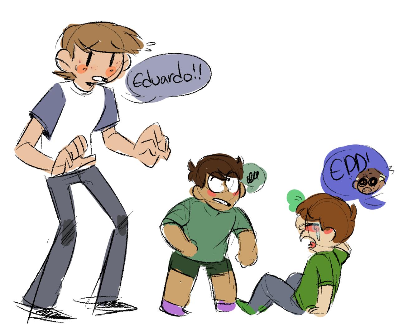 Tom and Jon have to babysit Edd, Matt, Tord, Eduardo, Mark