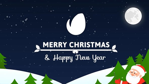 Colorful Christmas Card Holidays Envato Videohive Christmas Cards Free Christmas Cards Merry Christmas And Happy New Year