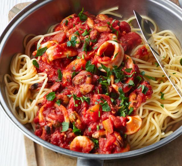 Aneka Resep Spaghetti Lezat Ala Restoran Yang Gampang Dibuat Resep Mantan Makanan Sehat Resep Pasta Menu Sarapan Sehat
