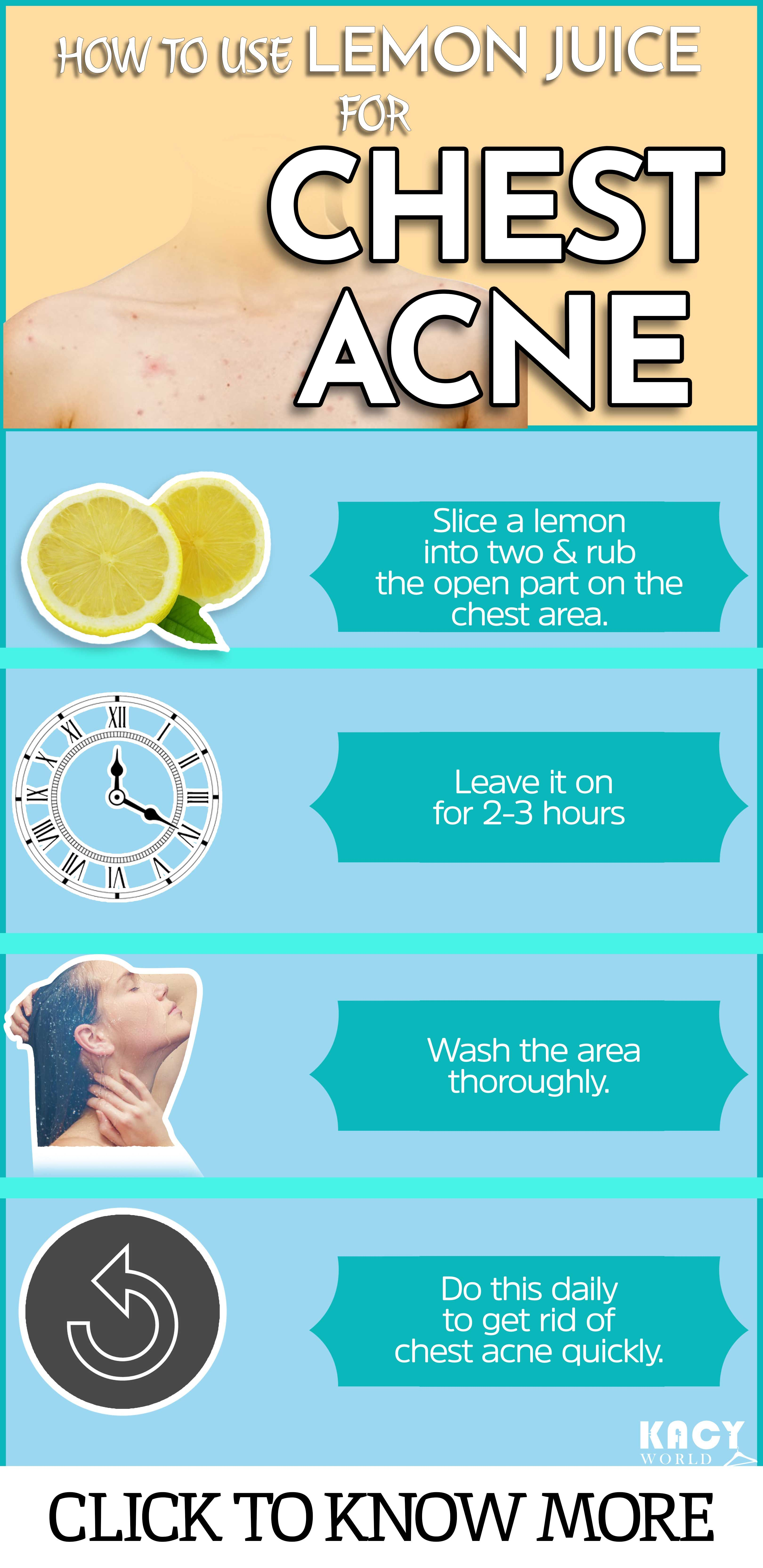 How To Get Rid Of Chest Acne Quickly