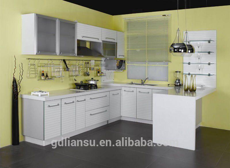 Economical And Practical Project Kitchen Cabinet Lacquer Pvc Melamine Wood Veneer Solid Wood K Kitchen Design Trends Kitchen Design Small Modern Kitchen Design