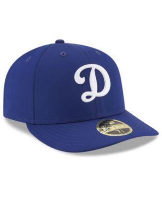292c9c94 Los Angeles Dodgers Low Profile Batting Practice Pro Lite 59FIFTY ...