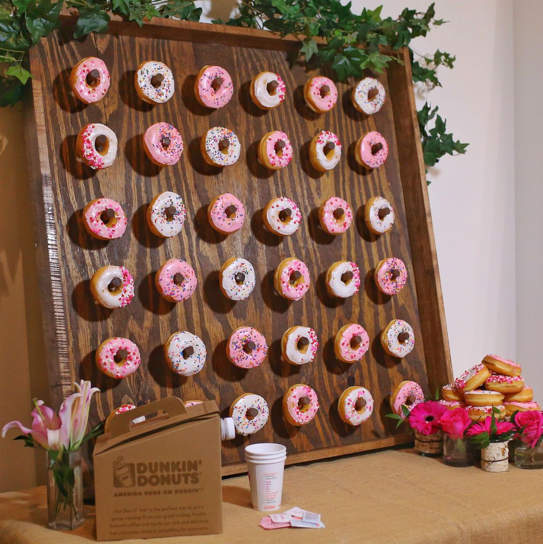 How To Build A DIY Donut Wall