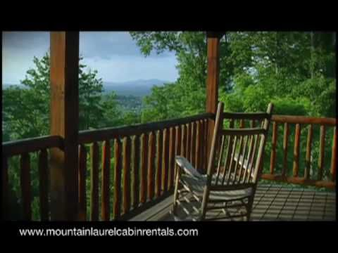 Mountain Laurel Cabin Rentals: North Georgia Blue Ridge Luxury Lake Cabin  Vacation Rentals