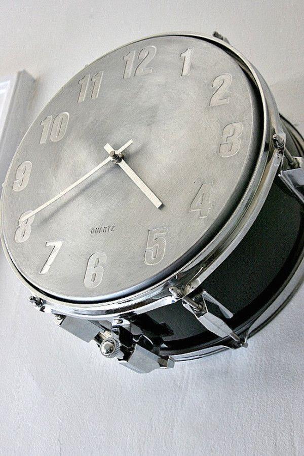 Clocking the drum