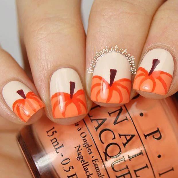 21 Amazing Thanksgiving Nail Art Ideas Stayglam Beauty Pinterest