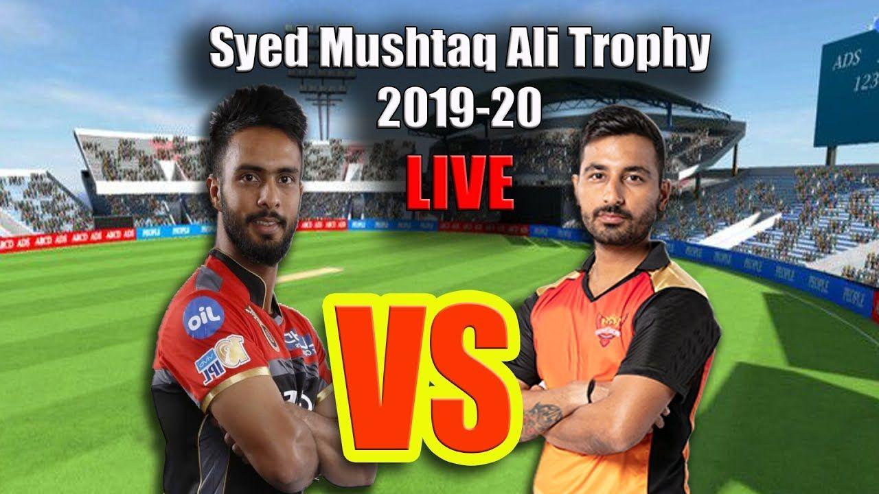 LIVE Syed Mushtaq Ali Trophy 201920, Haryana v Meghalaya