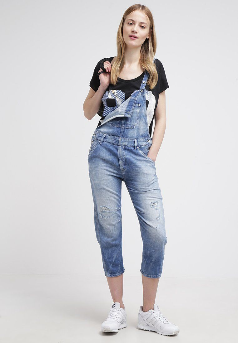 Pepe Jeans COSTER Salopette blue prix promo Salopette Femme Zalando 130.00  € TTC 73b04f13dda