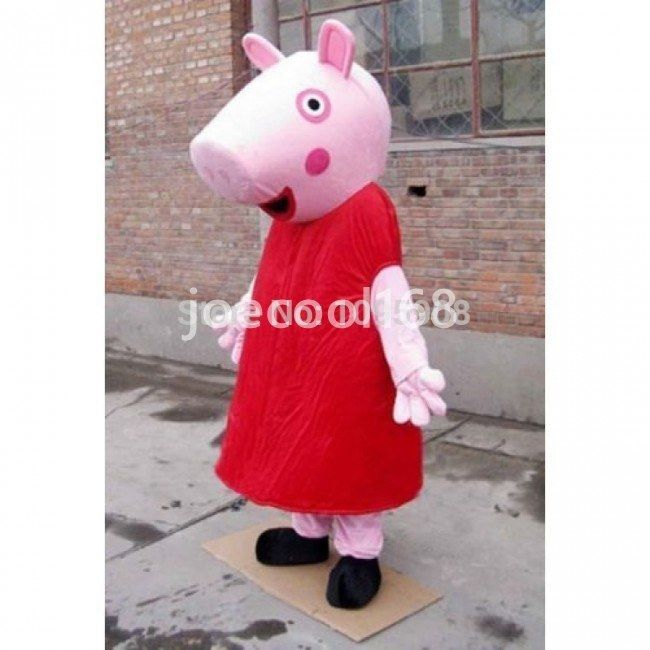 High Quality Peppa Pig Mascot Costume Adult Party Mascot Costume  sc 1 st  Pinterest & Mascot head mascot body shoes or shoe covers gloves (tail) etc ...