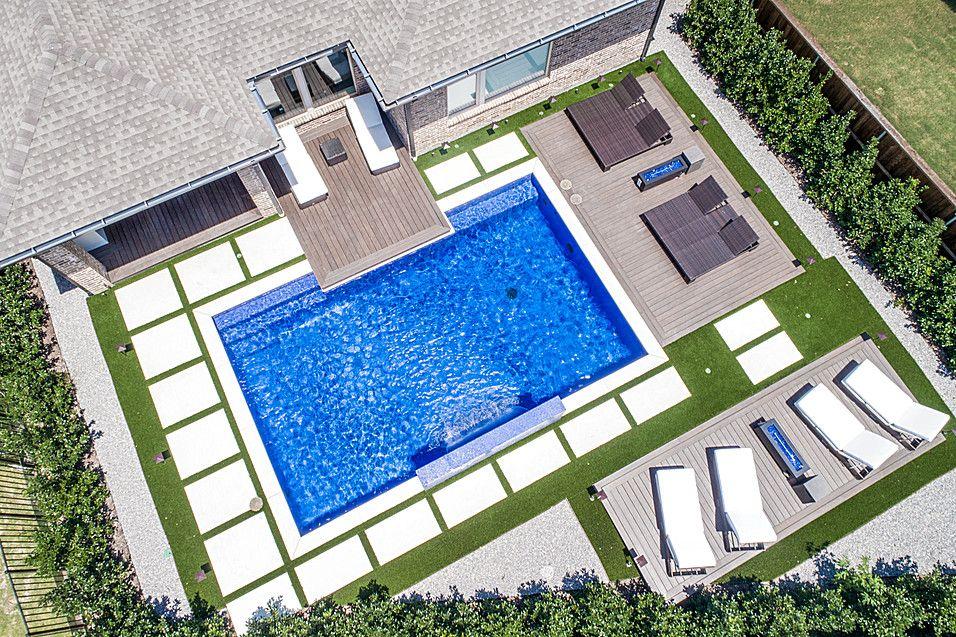 Straight Line Pool Gallery Gold Medal Pools Pool