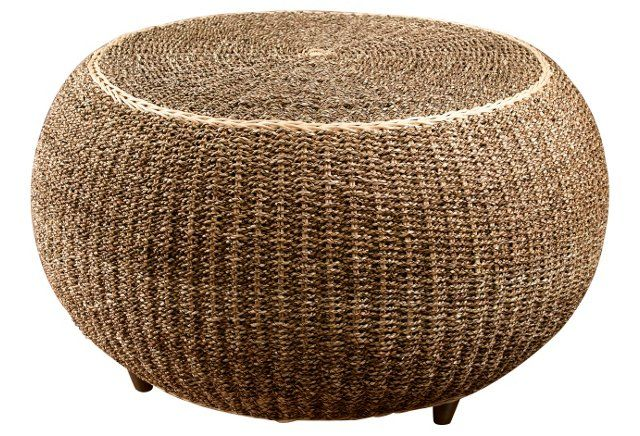 Inari Woven Coffee Table, Natural