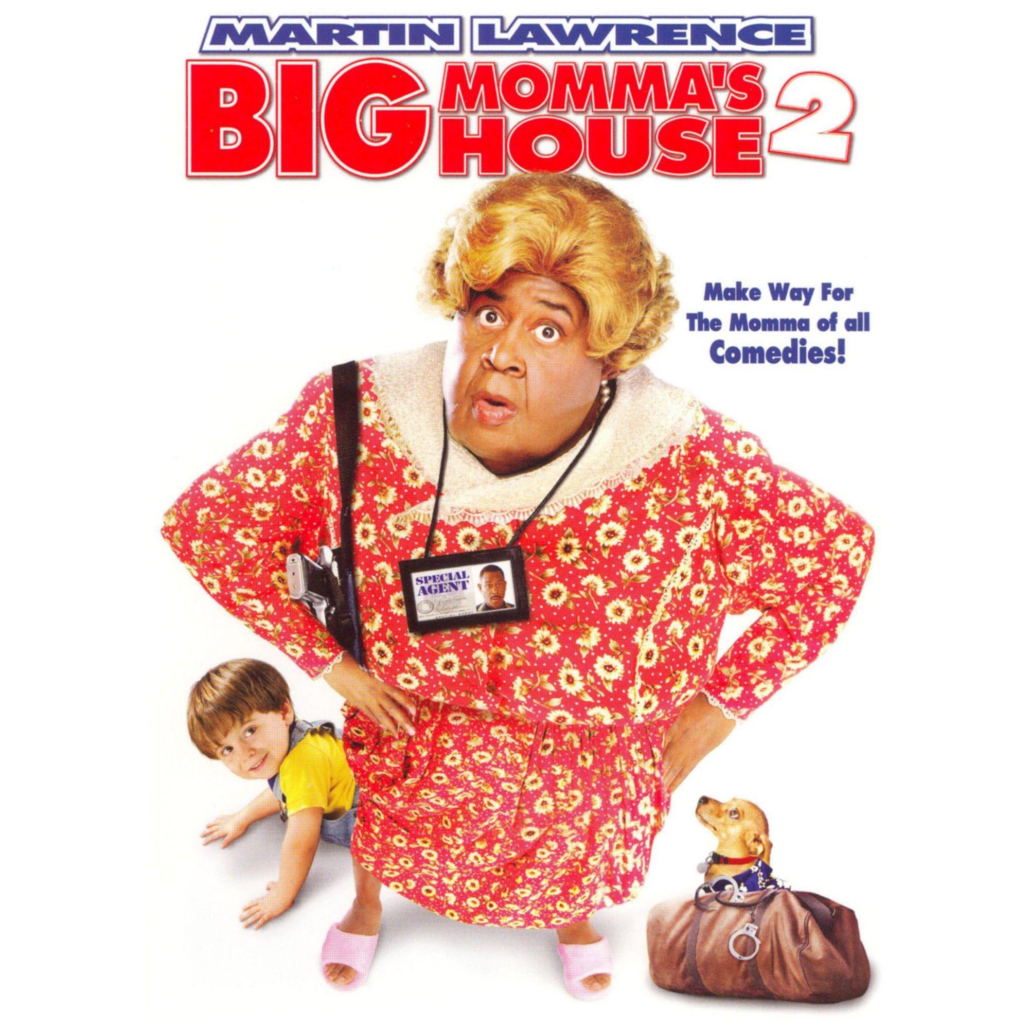 Big mommas house 2 dvd_video big mommas house
