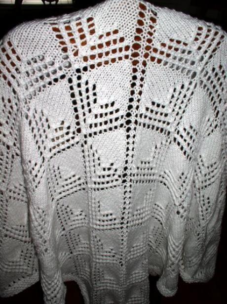 Alix Knit Prayer Shawl by Ashley Saber | Knitting Patterns | Pinterest