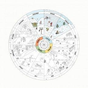 jahreskreis pdf | jahreskreis, jahreszeiten kindergarten und kalender für kinder