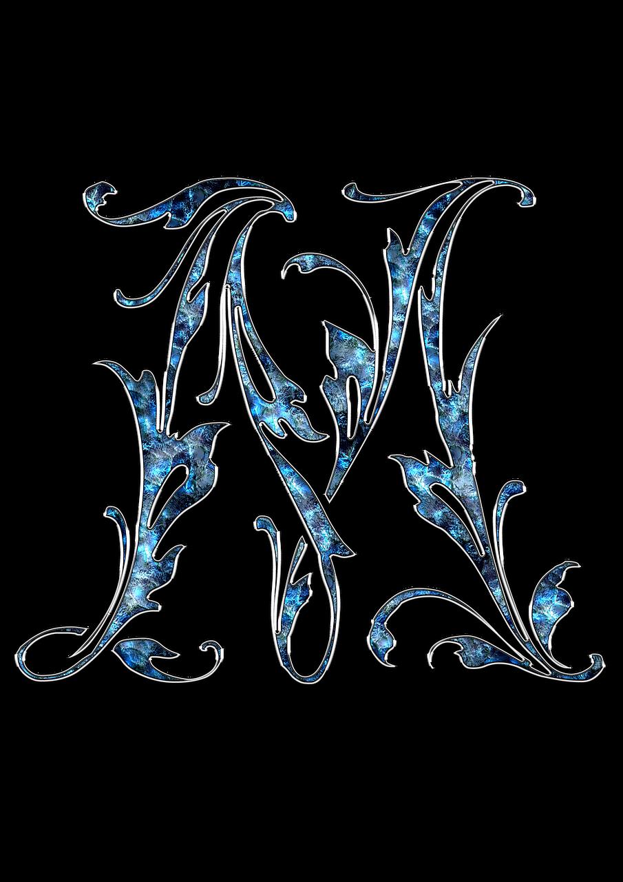 Бесплатные фото на Pixabay - Letter, Letter M, M, Initials ...