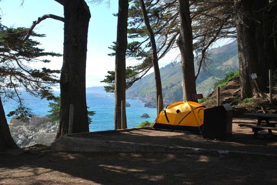 Julia Pfeiffer Burns Campground in Julia Pfeiffer Burns, California | This  park may only have