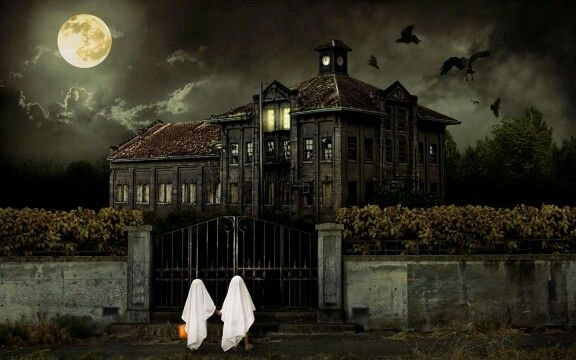 Trick or treat Haunted/Abandoned Houses Pinterest - halloween haunted house ideas