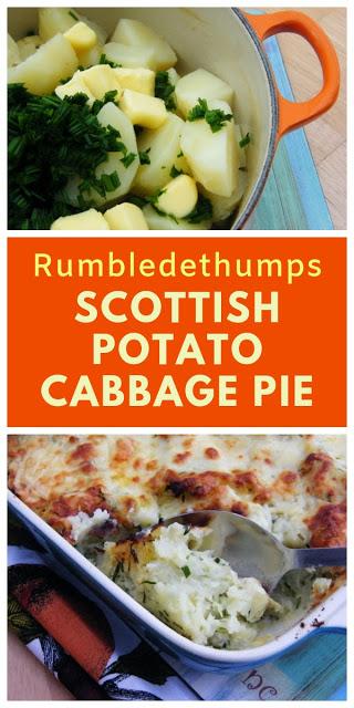 Rumbledethumps Scottish Potato And Cabbage Pie Scottish Recipes Scottish Dishes Food