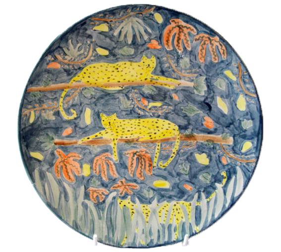 A Plate A Day 1167 Ceramic Plates Pottery Patterns Illustration Art