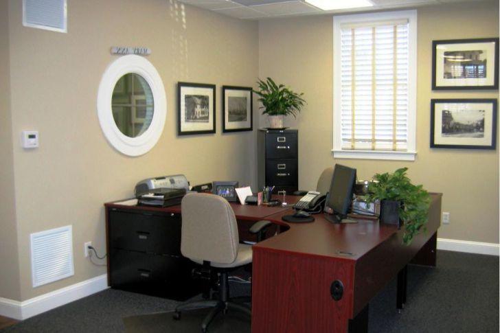 Cool Home Office Design Schemes - June, 2018 #officedesign Office