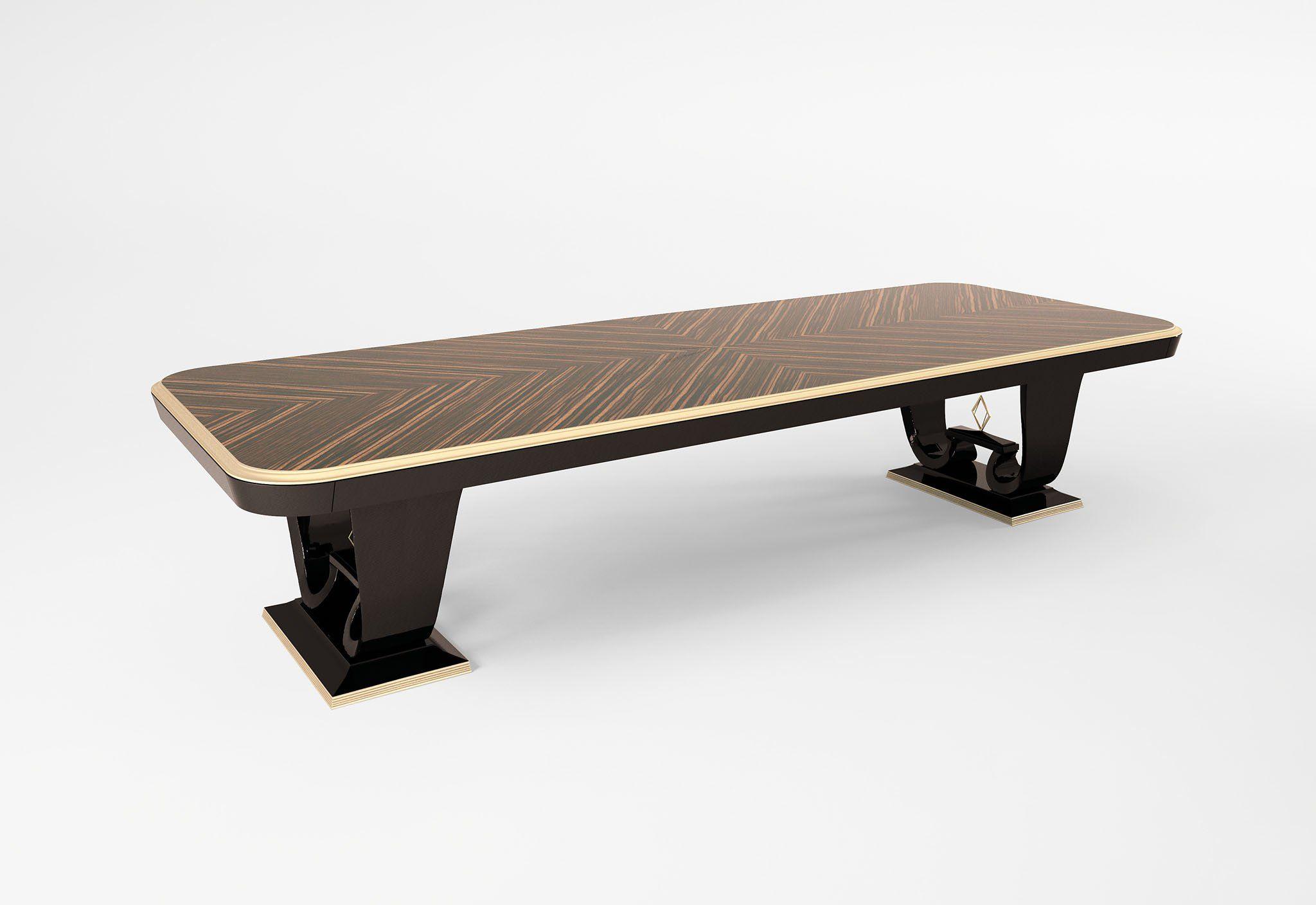 New York rectangular dining table #table #kitchen #artisan ...