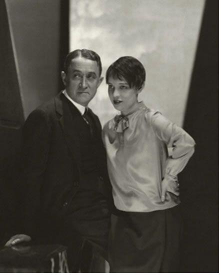 Screenwriter Anita Loos With John Emerson For Vanity Fair July 1928 Actor John Edward Steichen New Yorker Cartoons