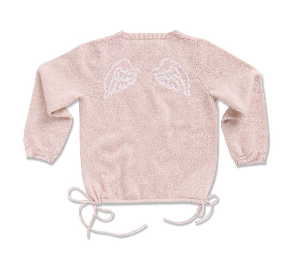 09c153c9b8b Cashmere Angel Wing Jumper