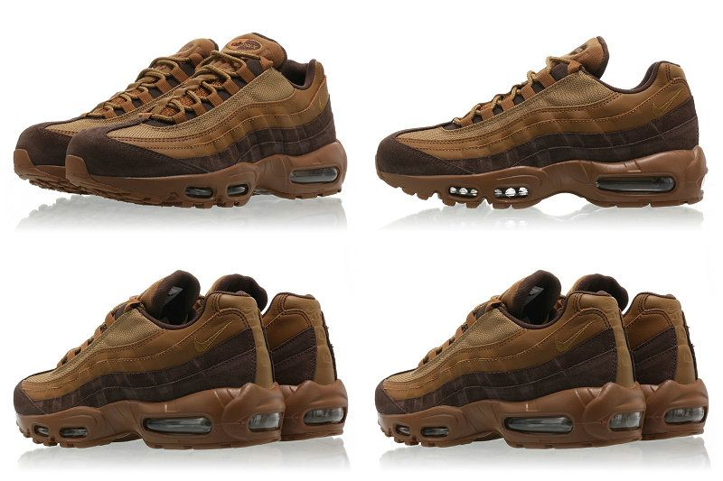 Nike Air Max 95 Premium Baroque Brown Golden Beige | Footshop