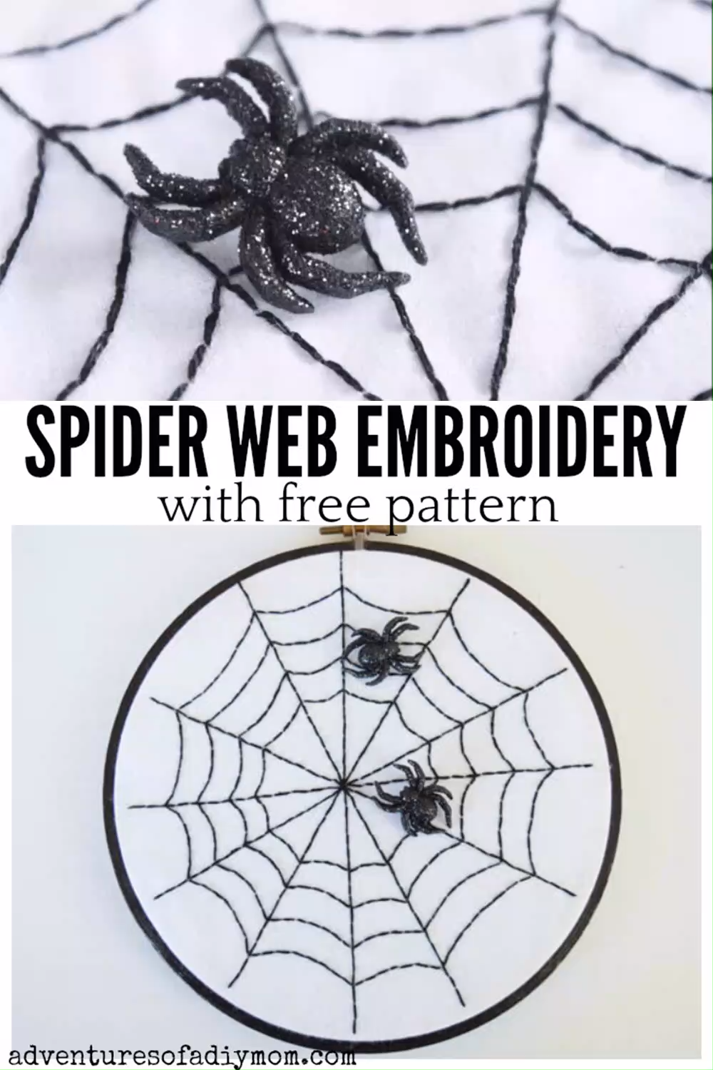 Photo of Spider Web Embroidery