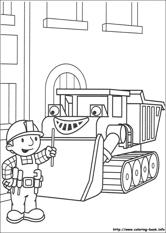 Bob the Builder coloring picture | andrew\'s favorites | Pinterest