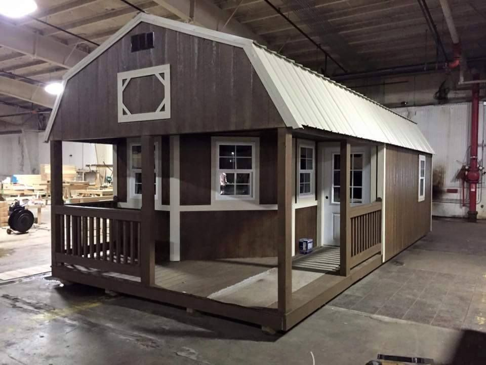 Playhouse Turned Into A Cozy Tiny Home Home Tiny House Cabin