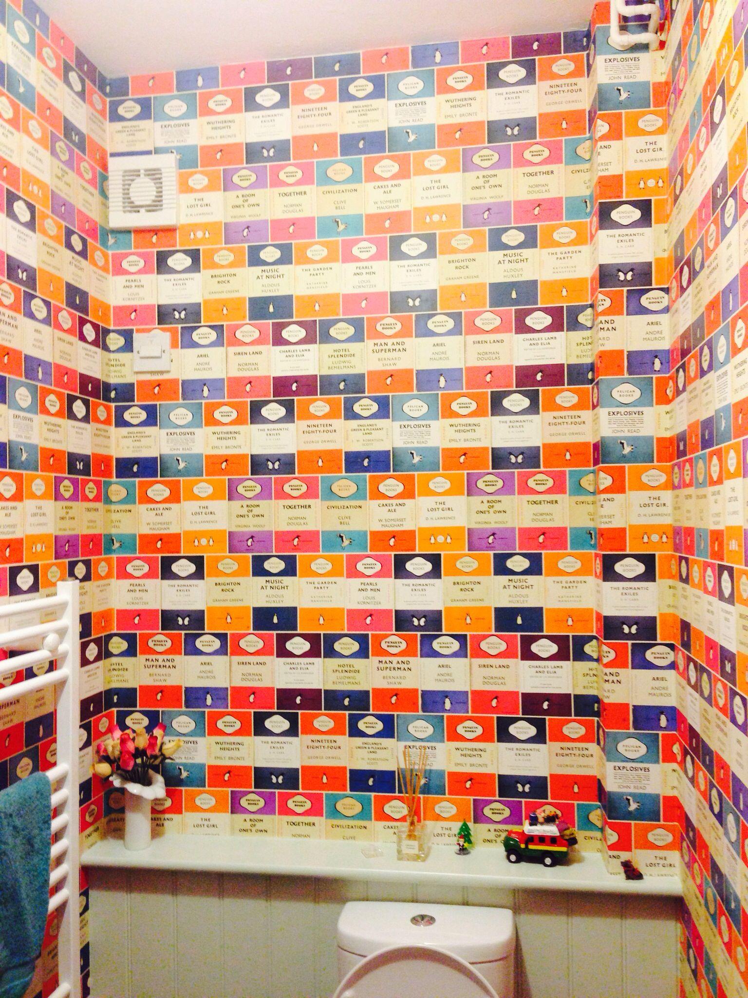 Penguin Book Cover Wallpaper : Penguin books wallpaper decor pinterest book
