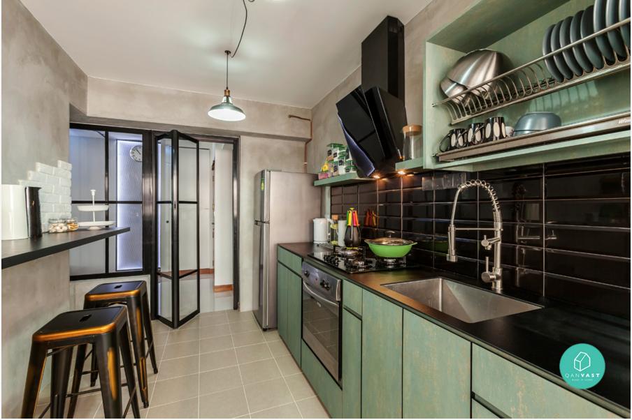 hdb 4 room kitchen design. HDB Kitchen concept  Mr Con Pinterest Kitchens Room and
