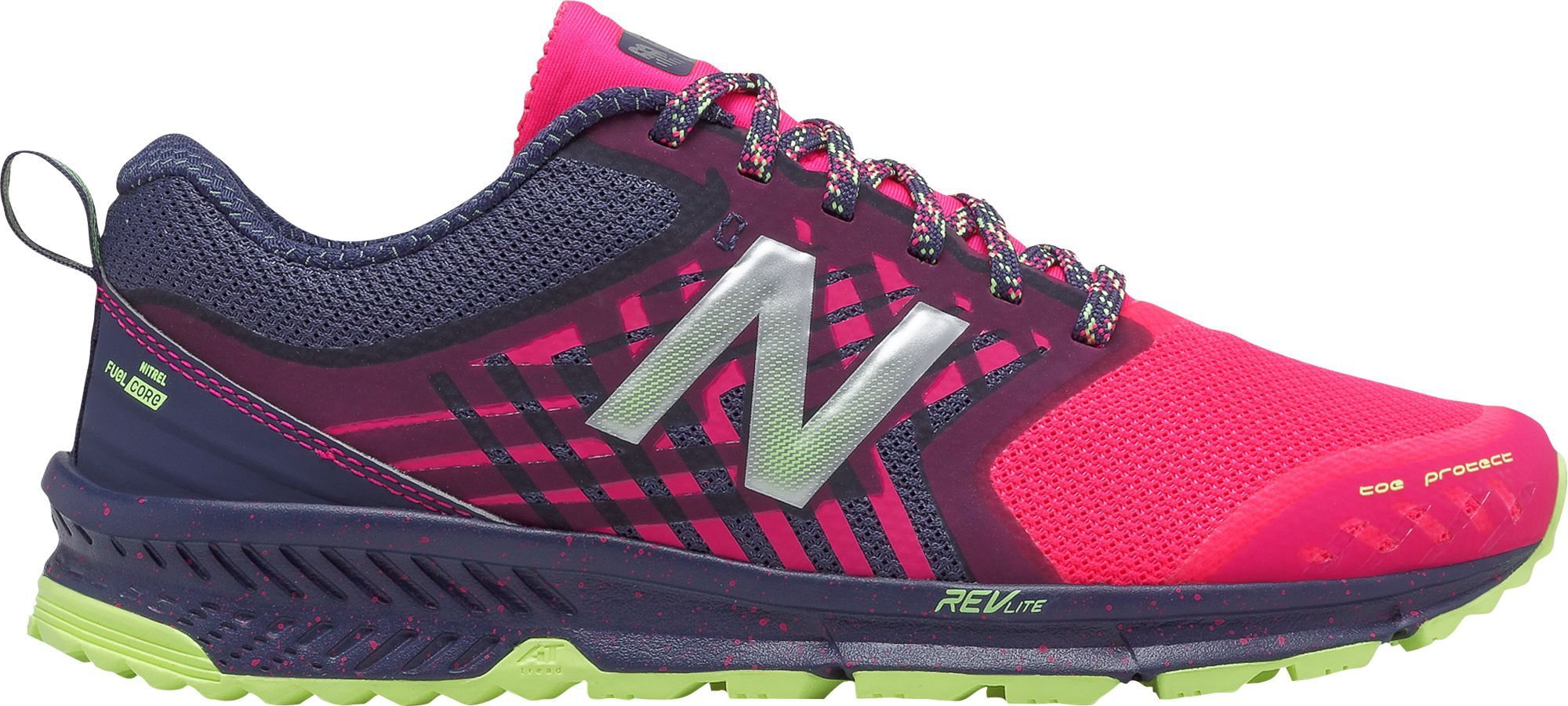 0671e884 New Balance Women's FuelCore Nitrel Trail Running Shoes, Size: 11.0, Pink