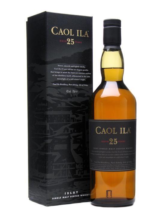 Caol Ila 25 year (£175)
