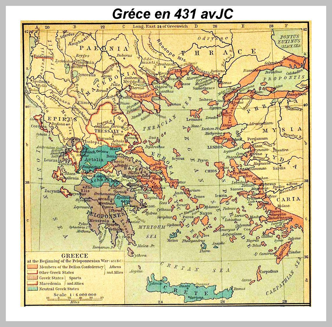 Carte De La Grece Et Des Cyclades De L Antiquite A Nos Jours Grieks