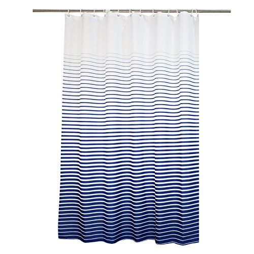 Amazon Com Ufaitheart 36 X 78 Inch Long Shower Curtain Stripe
