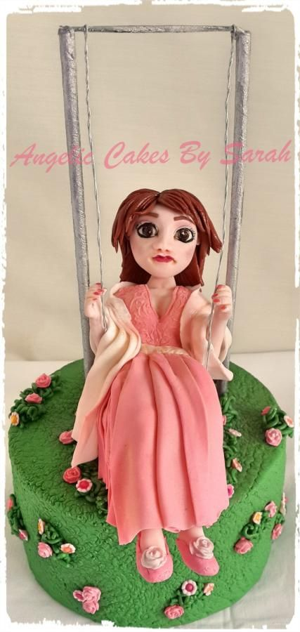 Letting out your inner child - Cake by Angelic Cakes By Sarah