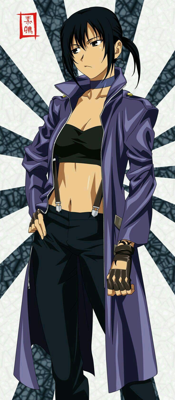 Alphard from canan Canaan anime, Anime military, Otaku anime